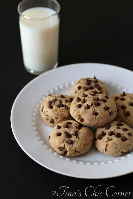 15Light Chocolate Chip Cookies