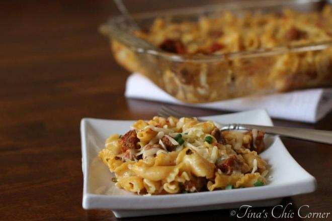 04Spicy Chorizo and Pasta