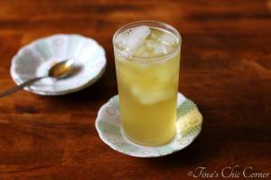 04Iced Honey Green Tea