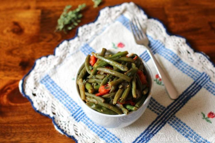 09Green Beans With Tomatoes