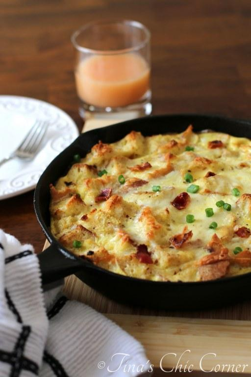 07Bacon, Egg, And Cheese Skillet Strata