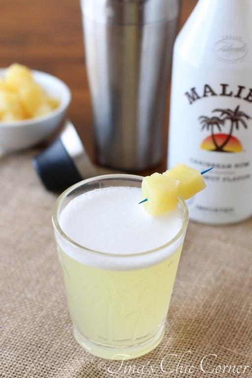 Malibu & Pineapple Juice06