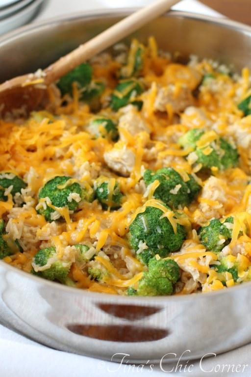 One Pan Chicken, Broccoli and Rice07