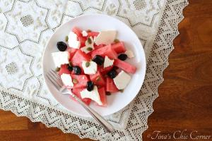 Watermelon &Feta Salad01
