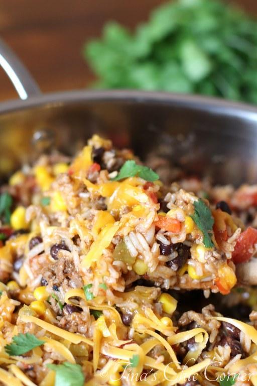 One Pot Burrito Bowls10