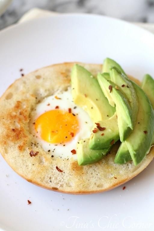 Avocado Egg Bagel07