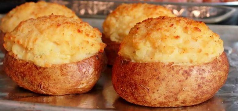 Fancy Stuffed Potatoes