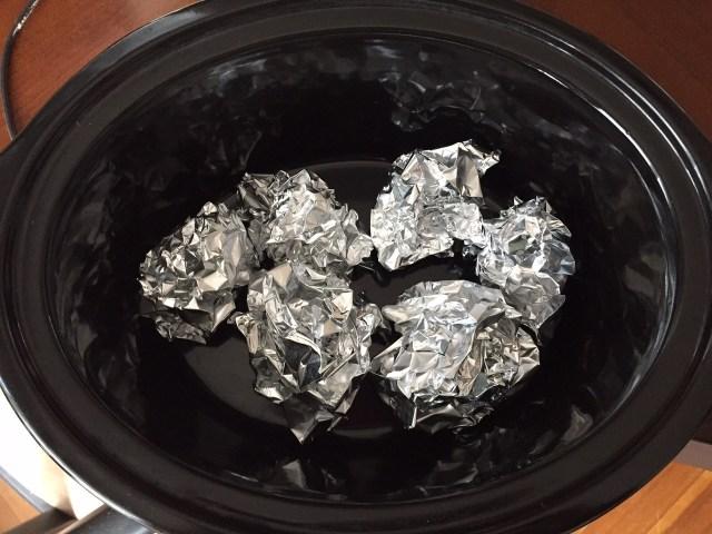 Aluminum Foil Rotisserie Chicken