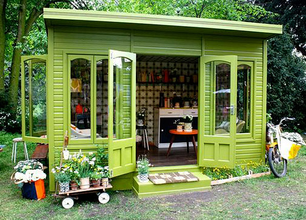 Quirky Shed