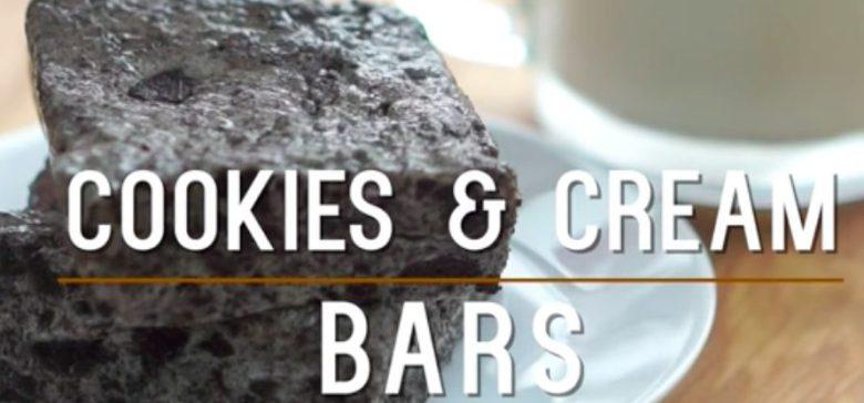 Cookies & Cream Bars