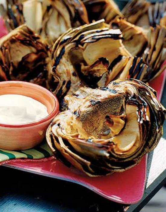 Grilled Artichokes Edited