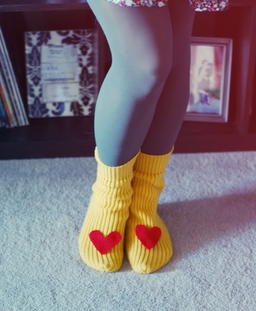 Sweater Slippers