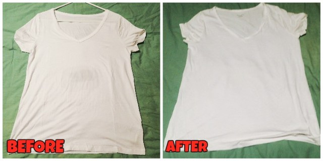 Aloe Vera White Before and After