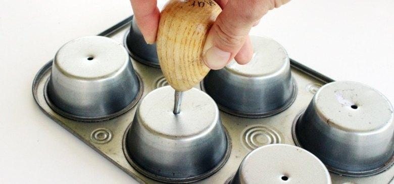 Muffin Tin Planter
