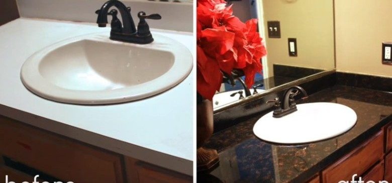 . How to Make Your Old Laminate Countertops Look Like Stone