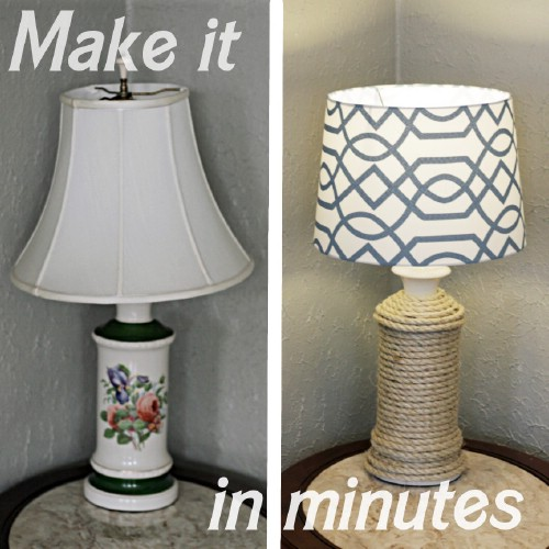 Twine Lamp
