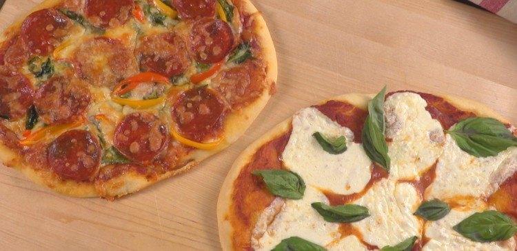 2-Ingredient Pizza Dough Header
