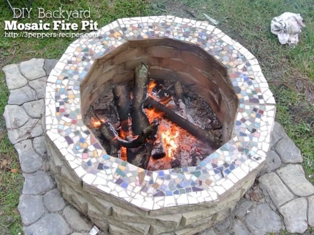 Mosaic Fire Pit