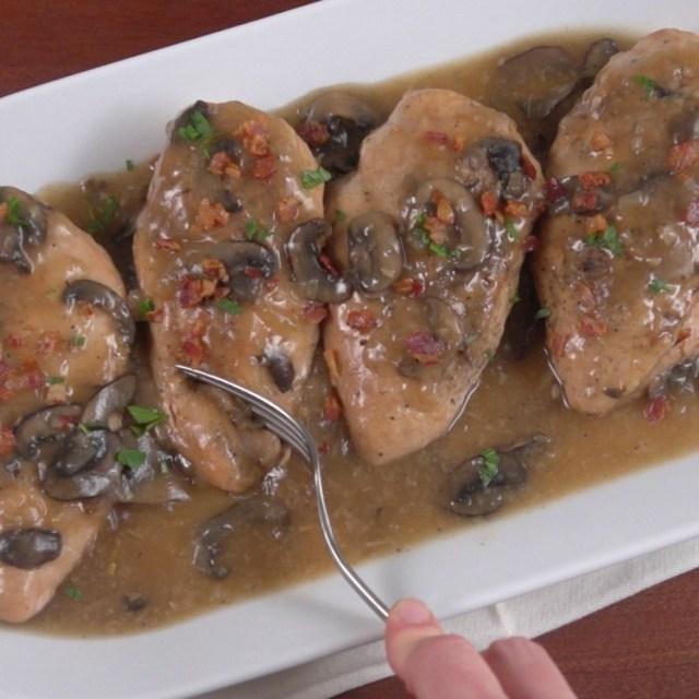 Slow Cooker Chicken Marsala Thumbnail