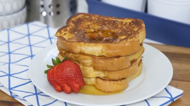 Double or triple next batch of French toast and freeze extra