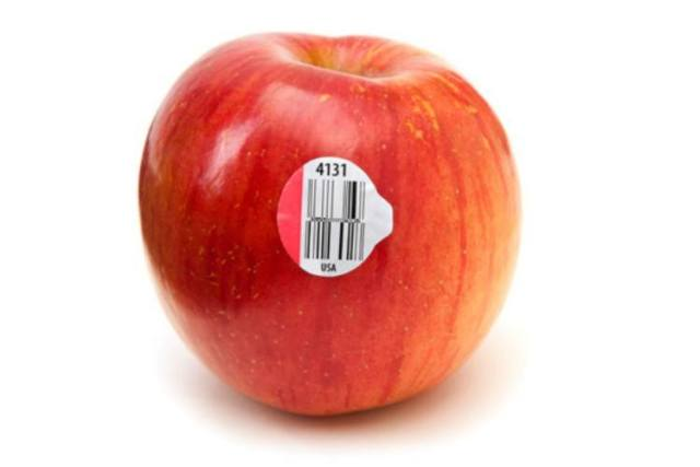 How to read a PLU sticker on produce.