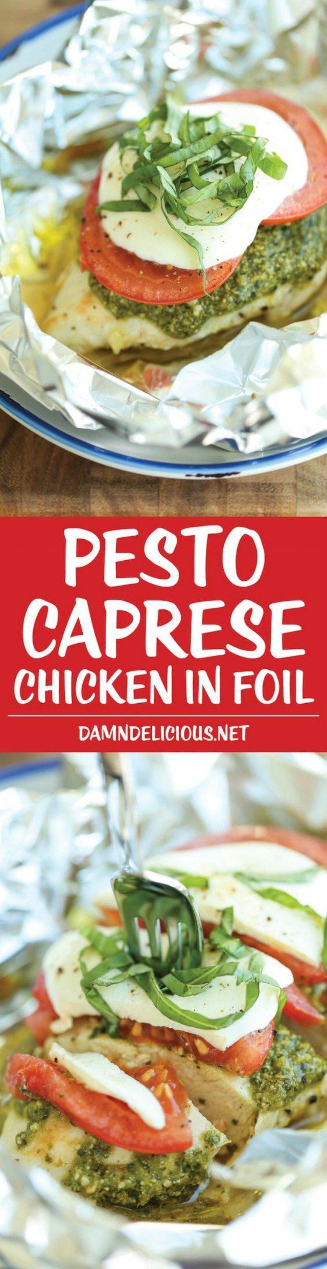 Pesto Hasselback