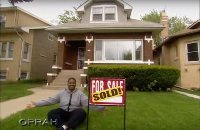The house Oprah bought for Bernadette.