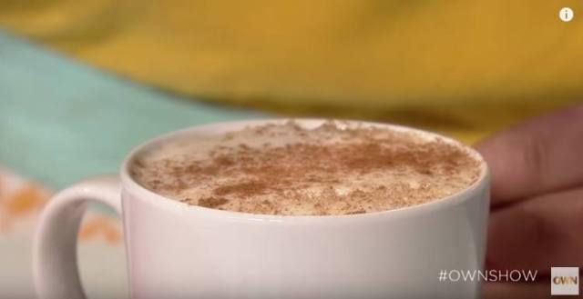 Homemade DIY pumpkin spice latte