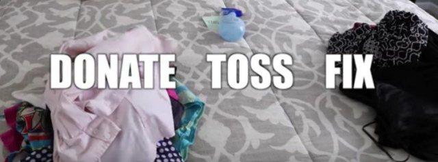 donate toss fix