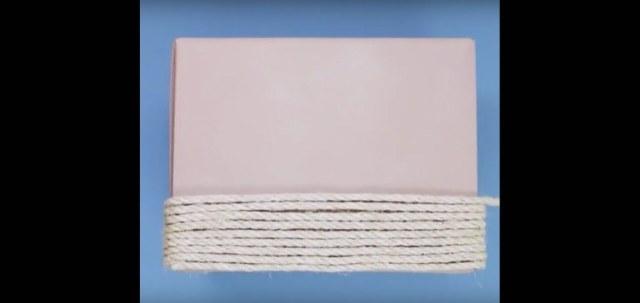 DIY woven basket
