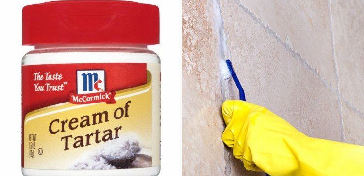 Ways to use cream of tartar in cleaning.