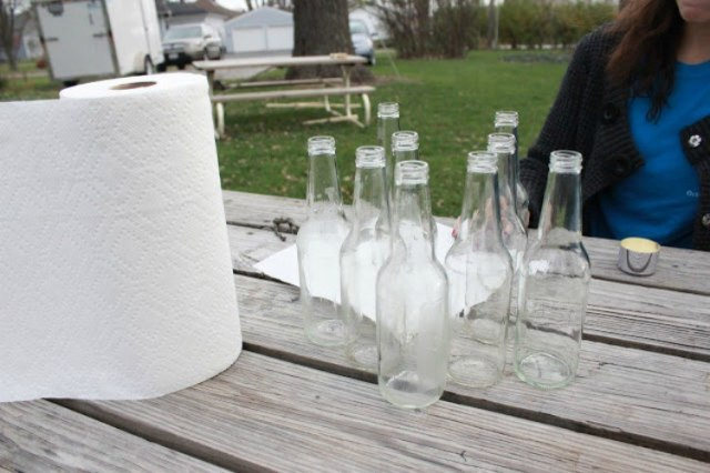 mercury clean bottles