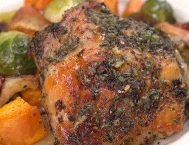 One pot harvest chicken.