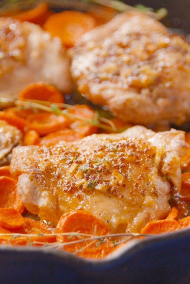 Maple Chicken and Carrots