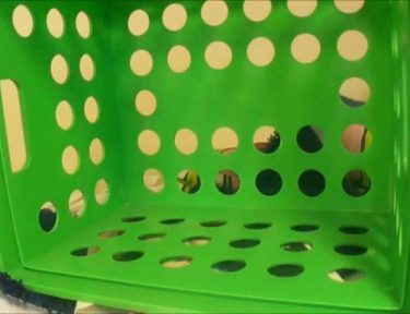 Image of plastic crate.