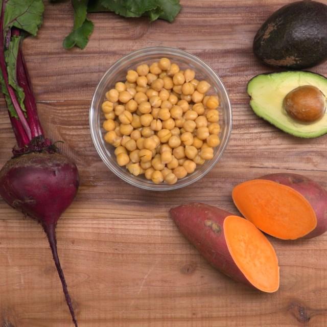 Hummus 4 Ways Ingredients