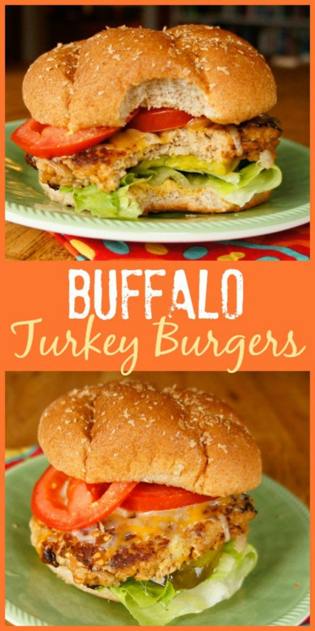 Buffalo turkey burger.