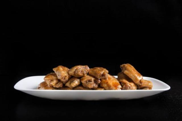 Honey soy wings made in the Instant Pot.