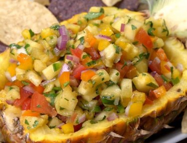 Pineapple Salsa finished product