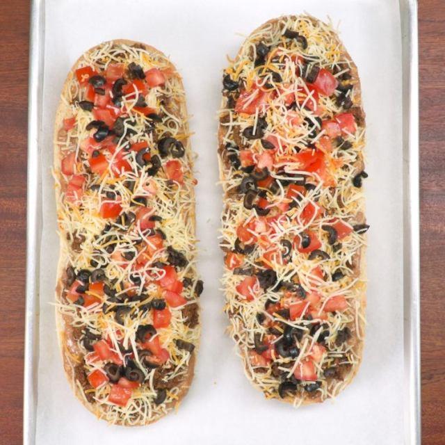 Taco Pizza Bread Ready to Go