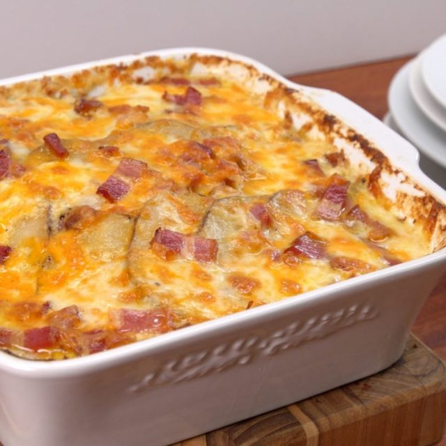 Loaded Potato Casserole hero shot