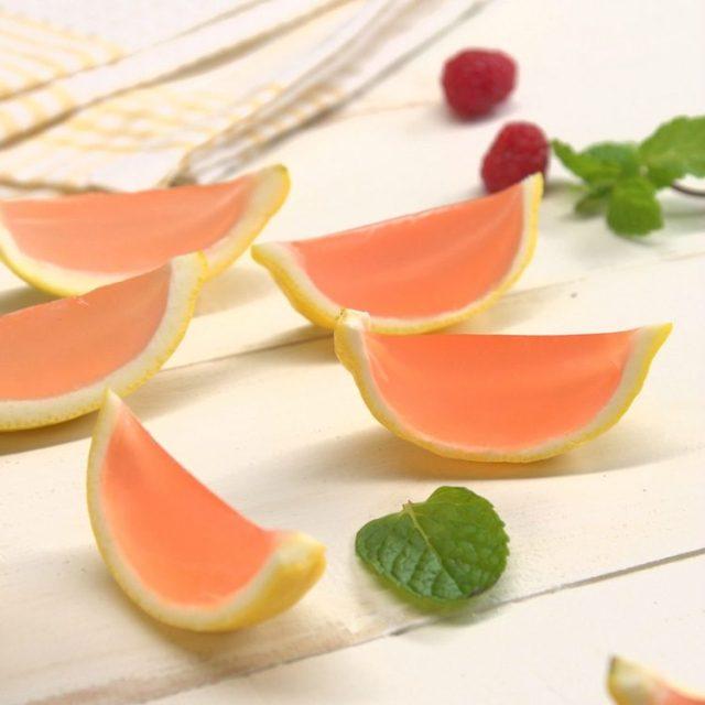 Pink Lemonade Jell-O Shots