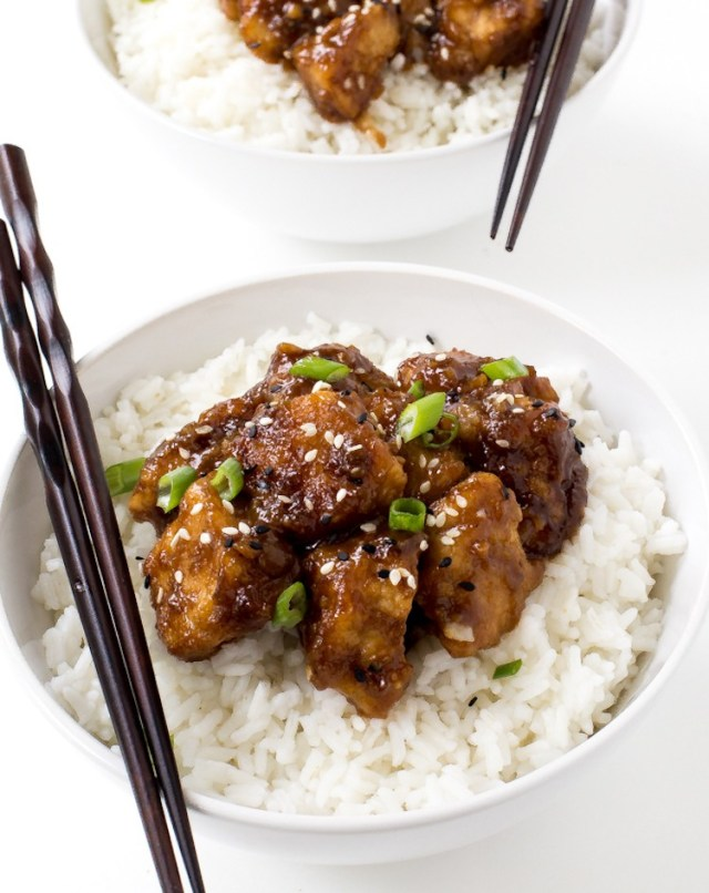 slow cooker general tso\'s chicken