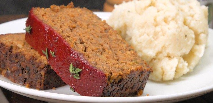 Vegetarian Mushroom Meatloaf featured image