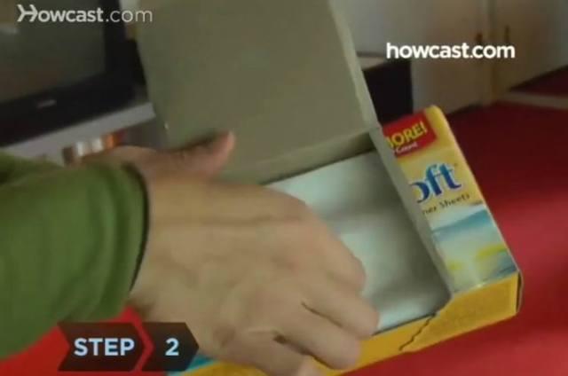 dryer sheets dusting