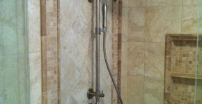 Kohler shower valve in master shower in Suwanee