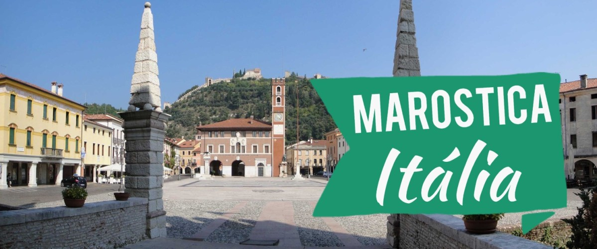 Marostica:  belíssima cidade medieval da Itália