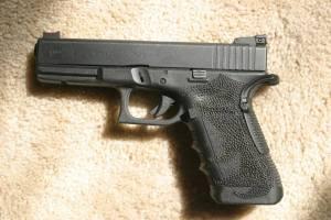 Mi Glock 17 personal. Pat McNamara