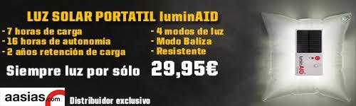 luz solar portátil luminAID