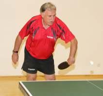 Rainer Pauly blieb im Einzel und Doppel ungeschlagen